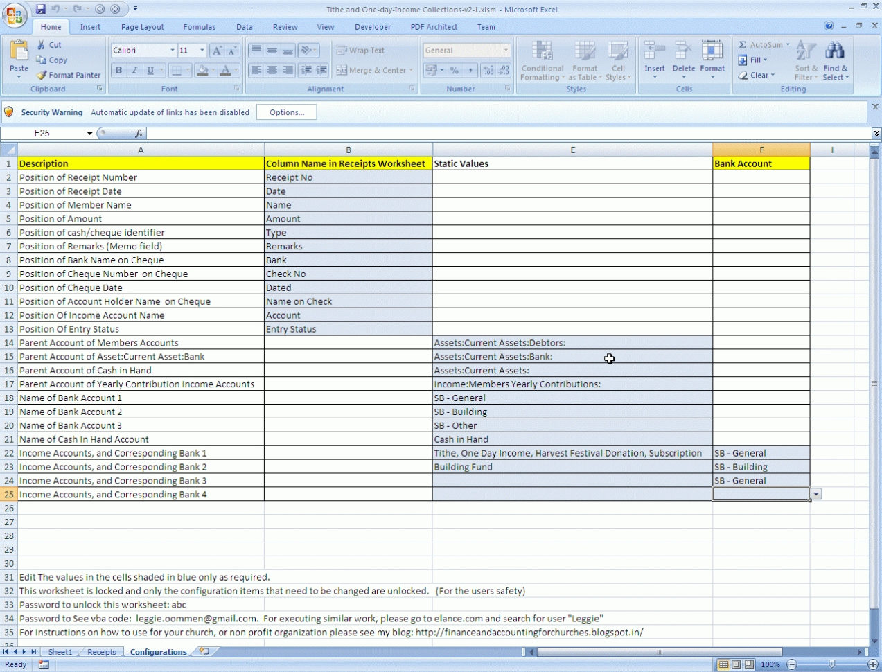 Church Tithe And Offering Spreadsheet | Natural Buff Dog And Church Tithe And Offering Spreadsheet