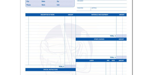 Cleaning And Janitorial Invoice Forms | Designsnprint In House Cleaning Service Invoice