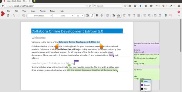 Collabora Online Für Owncloud Enterprise   Owncloud Inside Online Collaborative Spreadsheet