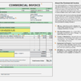 Commercial Shipping Invoice – Unitedijawstates – Form And Resume Inside Shipping Invoice Template