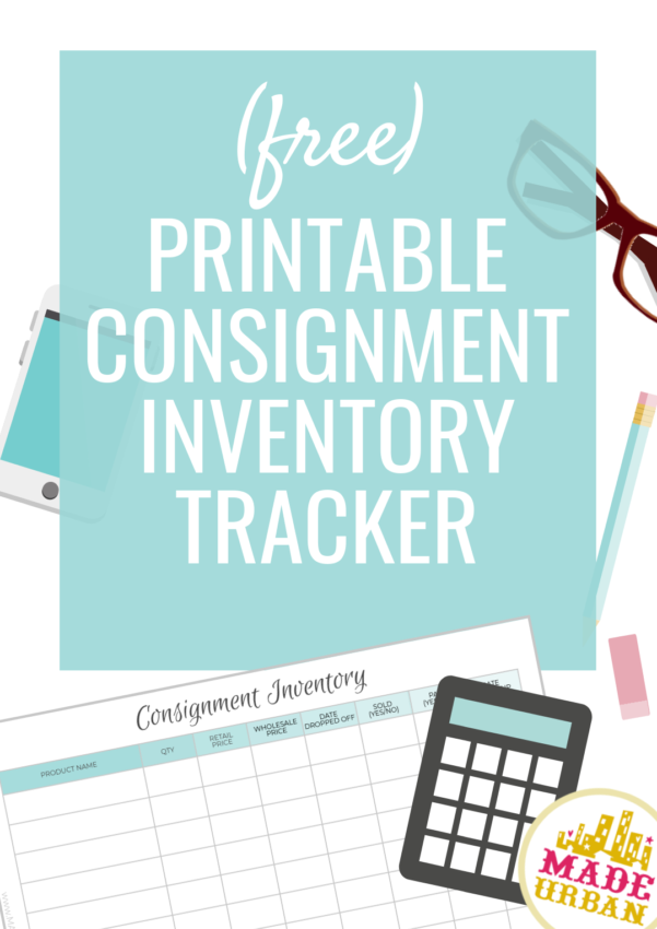 Consignment Inventory Tracking Spreadsheet   Made Urban Inside Consignment Inventory Tracking Spreadsheet