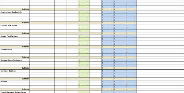 Construction Cost Breakdown Template Luxury Spreadsheet Estimate For House Building Cost Spreadsheet