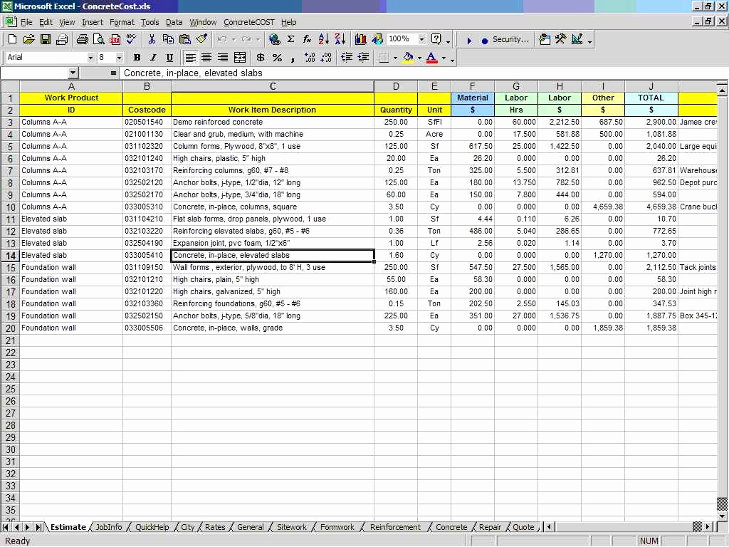 Construction Job Costing Spreadsheet As Google Spreadsheet Templates For Construction Job Costing Spreadsheet