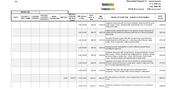 Consulting Invoice Template Excel Consulting Invoice Template With Consulting Invoice