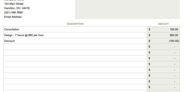 Contractor Invoice Template Google Docs 7 – Elsik Blue Cetane With Invoice Template Google Docs