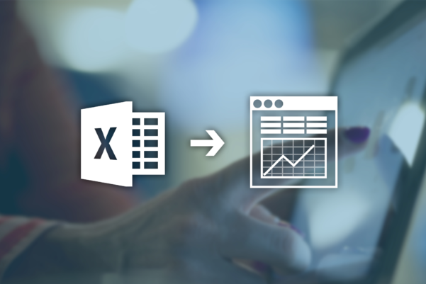 Convert Excel Spreadsheets Into Web Database Applications | Caspio Throughout Website Spreadsheet