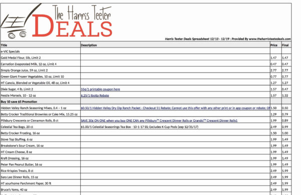 Coupon Spreadsheet App Elegant Extreme Couponing Spreadsheet For Coupon Spreadsheet App