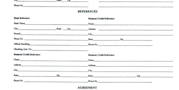 Credit Reference Request Letter   Kimo.9Terrains.co For Business Credit Reference Form