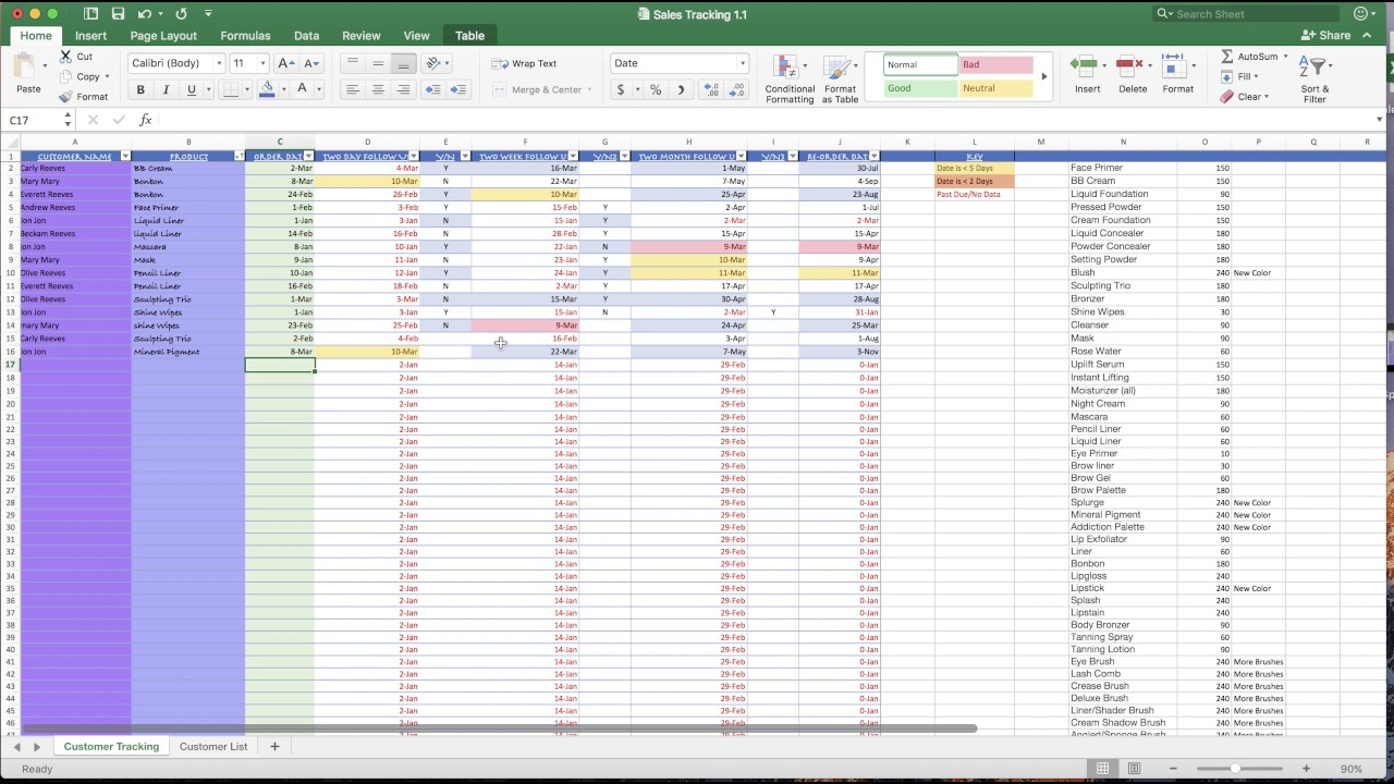 Customer Tracking Spreadsheet Excel 2018 Free Spreadsheet In Customer Tracking Excel Template