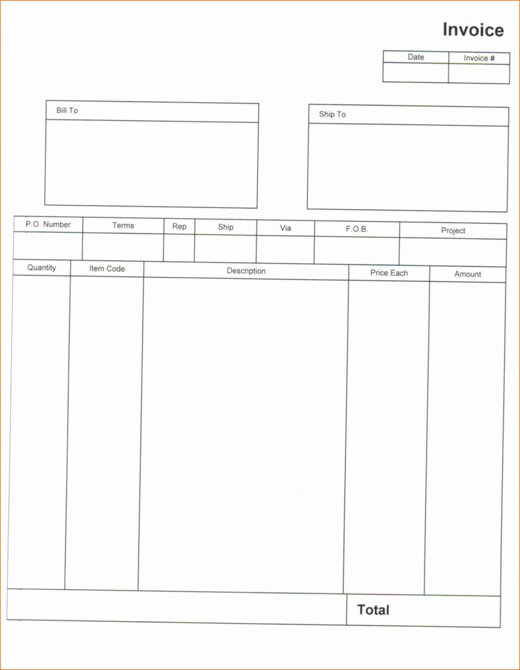 Customize Invoices In Quickbooks Online Lovely Invoice Template Throughout Invoice Template Quickbooks