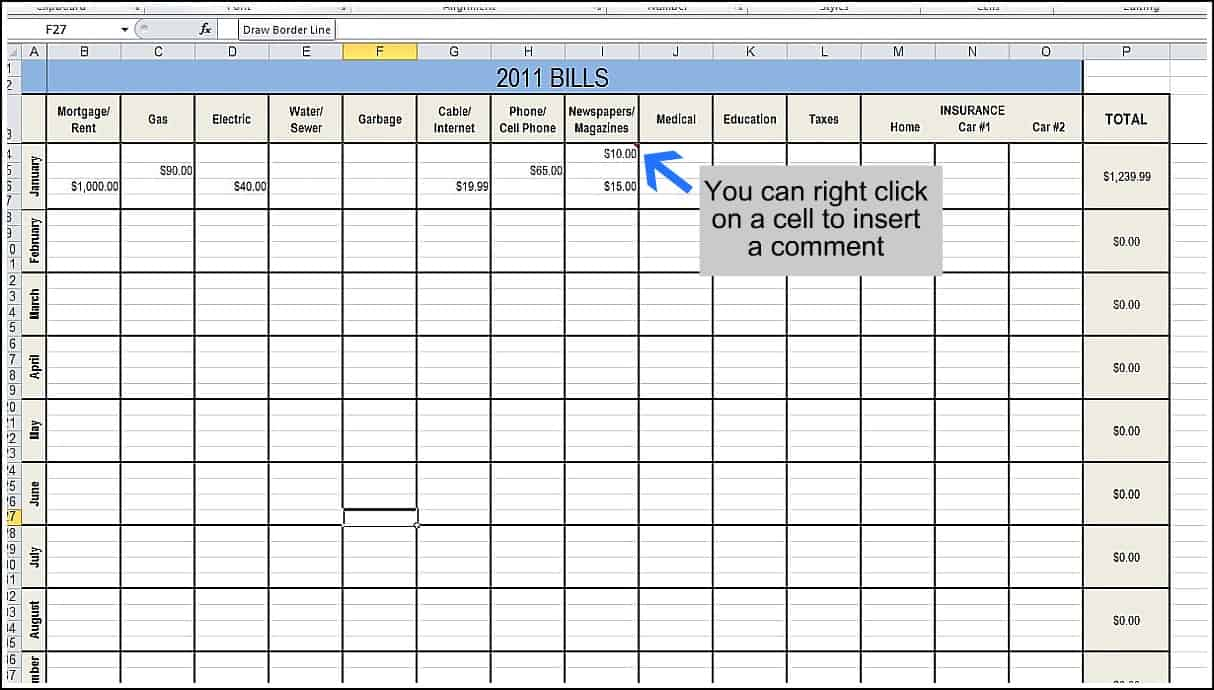 Daily Expense Tracker Excel | Papillon Northwan Throughout Daily Expenses Tracker