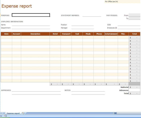 Daily Expense Tracker Excel Template And Excel Templates For Small For Online Business Expense Tracker