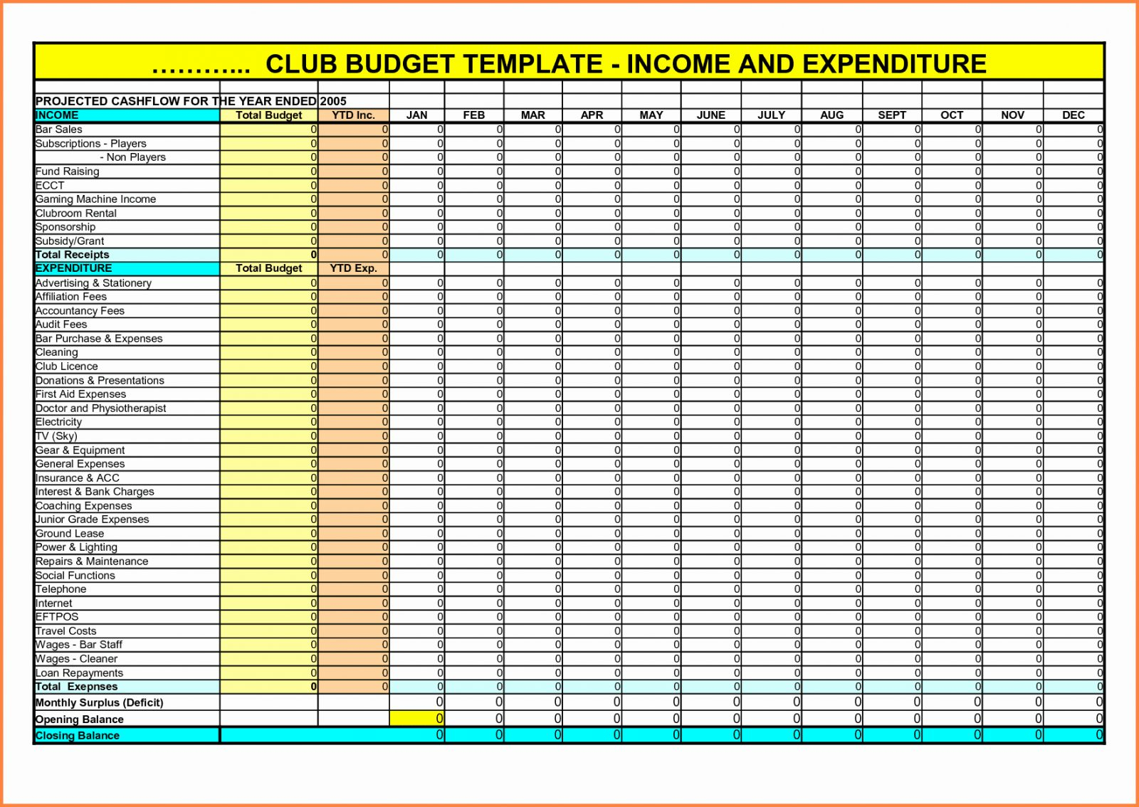 Daily Income And Expense Template Luxury Track In Expenses In Income Tracking Spreadsheet