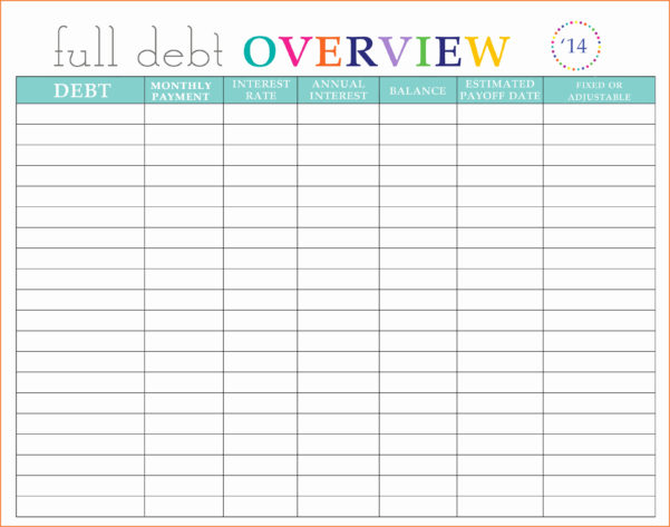 Debt Payoff Spreadsheet For Beautiful Gallery Freeer Of Sheet Throughout Credit Card Debt Payoff Spreadsheet