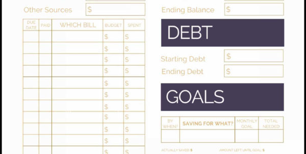 Debt Payoff Spreadsheet Template Debt Payoff Worksheet Pdf Lovely With Debt Consolidation Spreadsheet