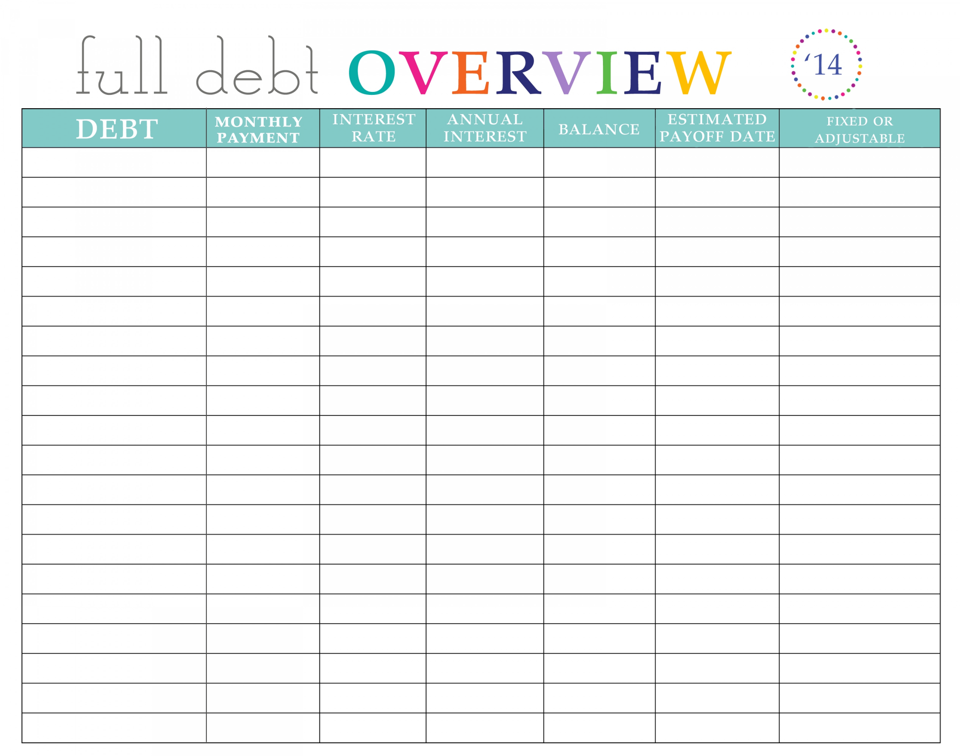 Debt Reduction Spreadsheet Free Pay Off Debt Spreadsheet Free For Debt Reduction Spreadsheet Free