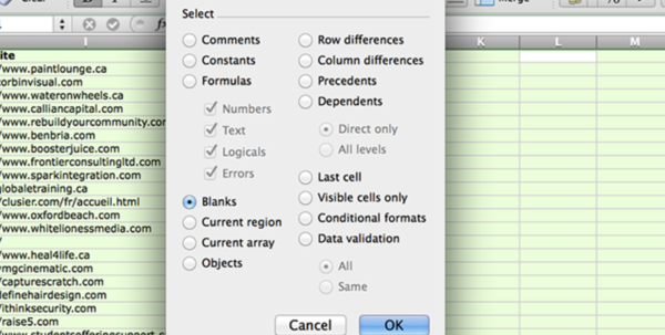 Delete Blank Rows And Columns In Excel With A Few Clicks With Blank Spreadsheets