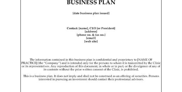 Dental Office Business Plan | Legal Forms And Business Templates With Form Business Plans