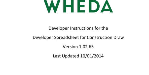 Developer Instructions For The Developer Spreadsheet For With Spreadsheet Developer