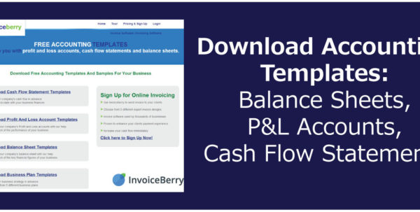 Download Accounting Templates: Balance Sheets, P&l Accounts, Cash Inside Free Accounting Templates In Excel