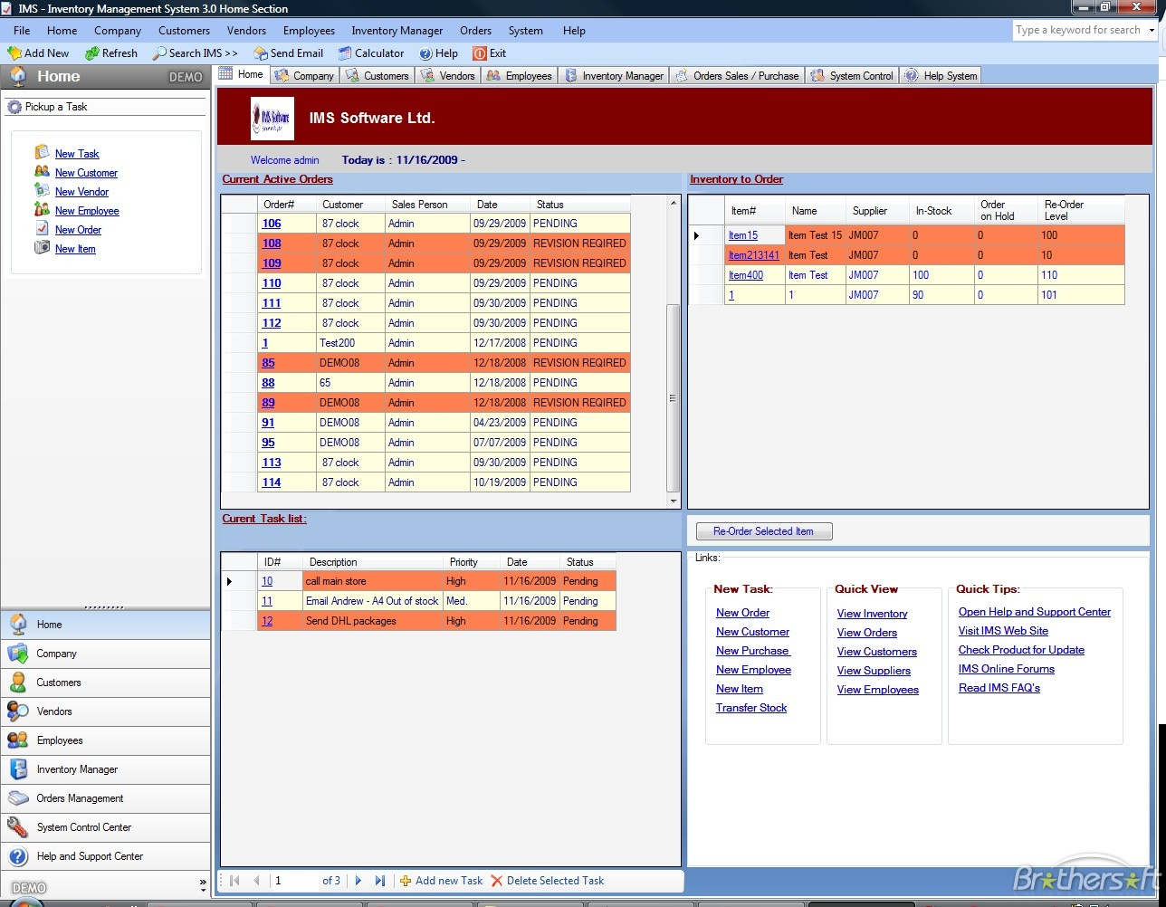 Download Free Ims   Inventory Management Software, Ims   Inventory To Inventory Tracking Template Free