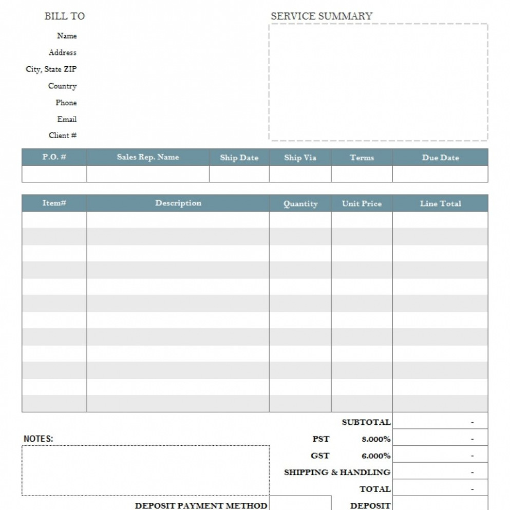 Download Free Invoice Template Lawn Care Lawn Care Invoice Template With Lawn Care Invoice Template