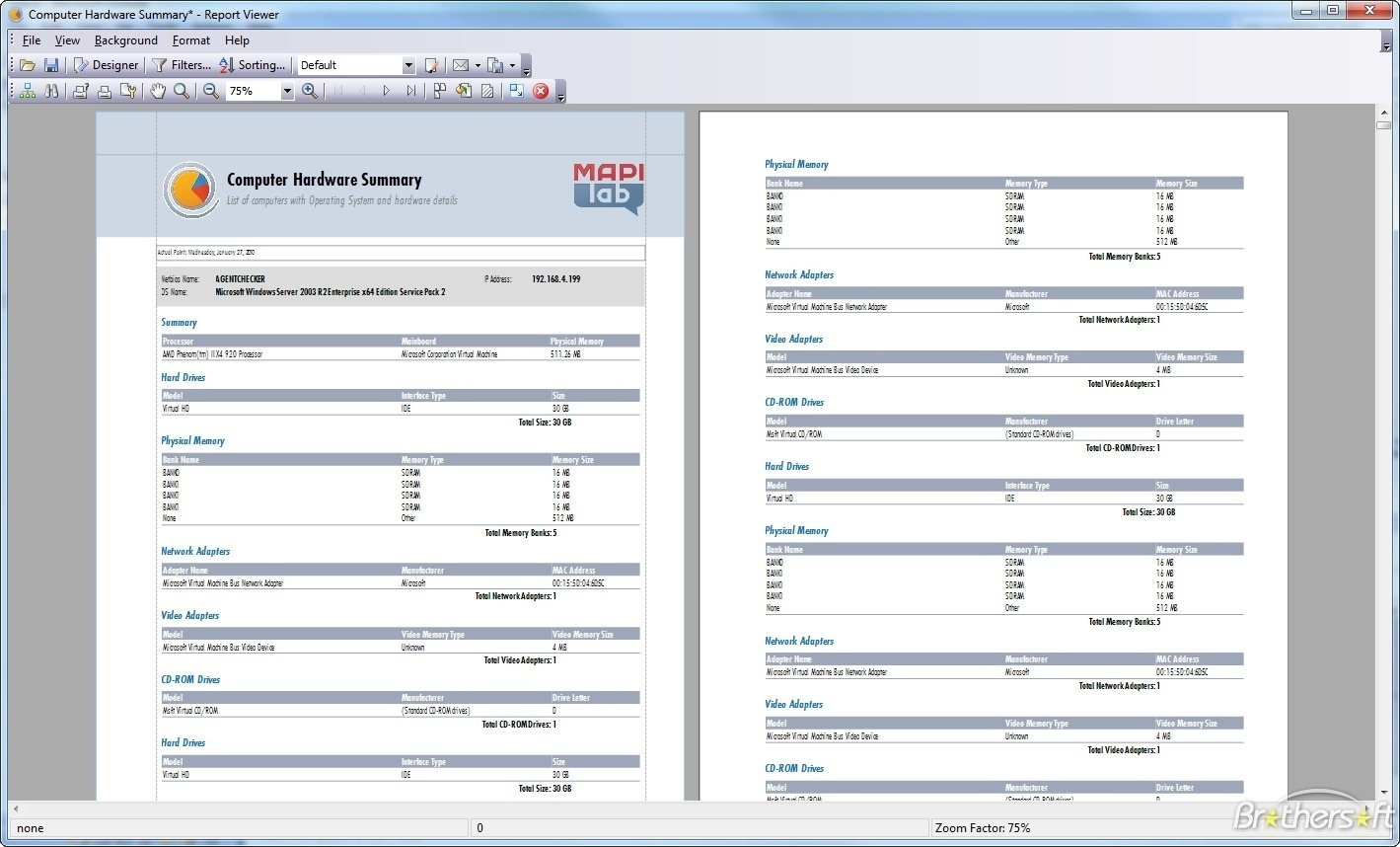 Download Free Mapilab Reports For Hardware And Software Inventory To Software Inventory Spreadsheet