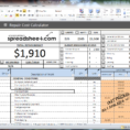 Download House Flipping Spreadsheet 1 in House Flipping Spreadsheet Free