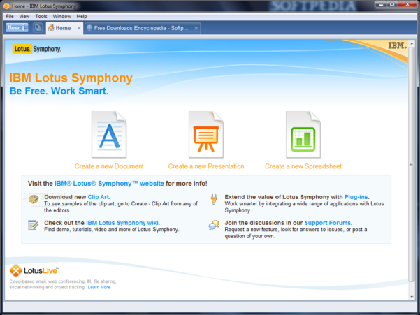 Download Ibm Lotus Symphony 3.0.1 To Lotus Spreadsheet Download