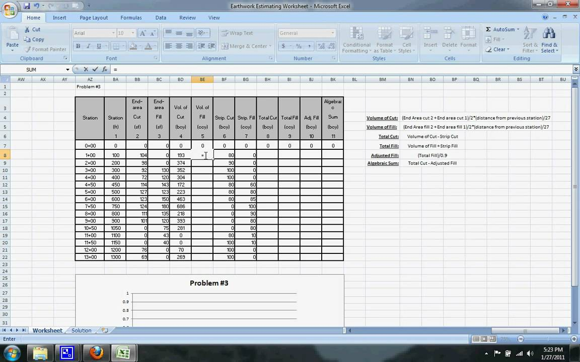 Earthwork Estimating Spreadsheet On Online Spreadsheet Compare Excel With Earthwork Estimating Spreadsheet
