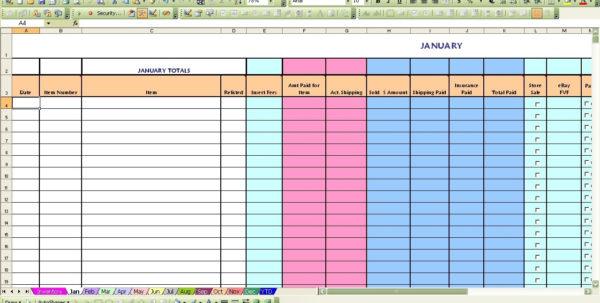 Ebay Inventory Spreadsheet | Laobingkaisuo With Ebay Accounting With Ebay Accounting Spreadsheet