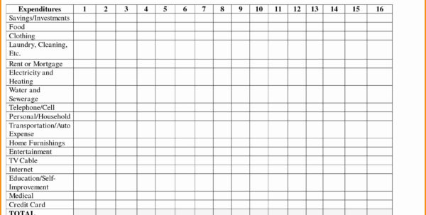 Elegant Monthly Bill Spreadsheet Template Free | Template Intended For Bills Spreadsheet Template