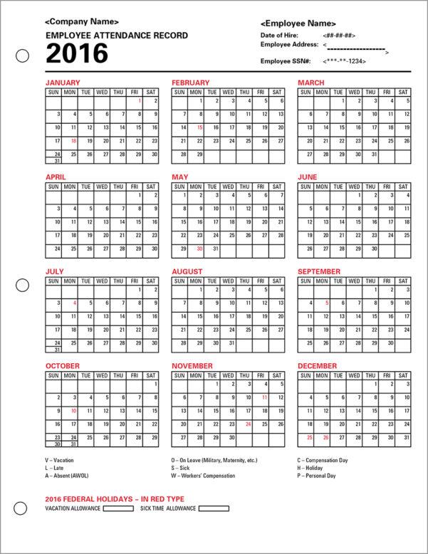 Employee Attendance Tracker Template   Durun.ugrasgrup In Employee Attendance Tracking Spreadsheet