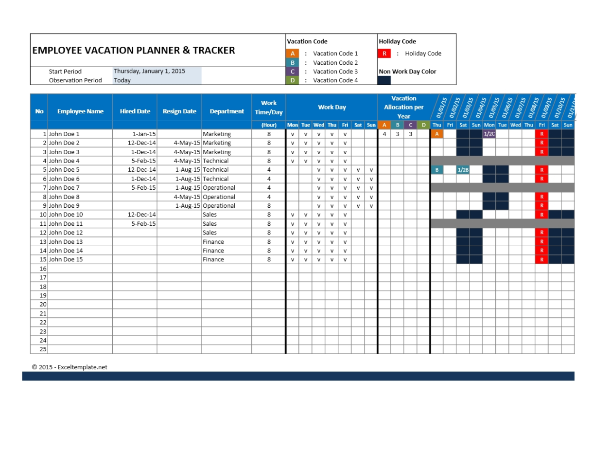 Employee Attendance Tracking Spreadsheet | Nbd Throughout Tracking Throughout Attendancetracking Spreadsheet Template