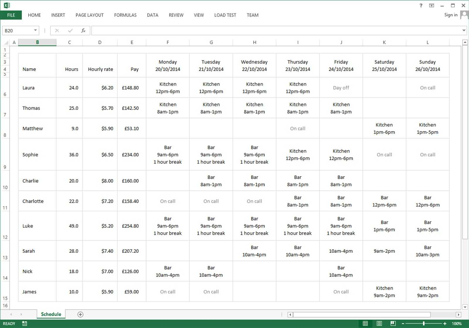 Employee Schedule Excel Spreadsheet | Sosfuer Spreadsheet With Employee Schedule Excel Spreadsheet