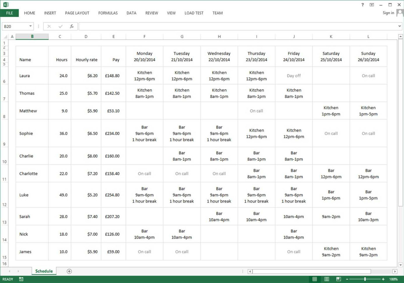Employee Schedule Excel Spreadsheet | Sosfuer Spreadsheet With Scheduling Spreadsheet