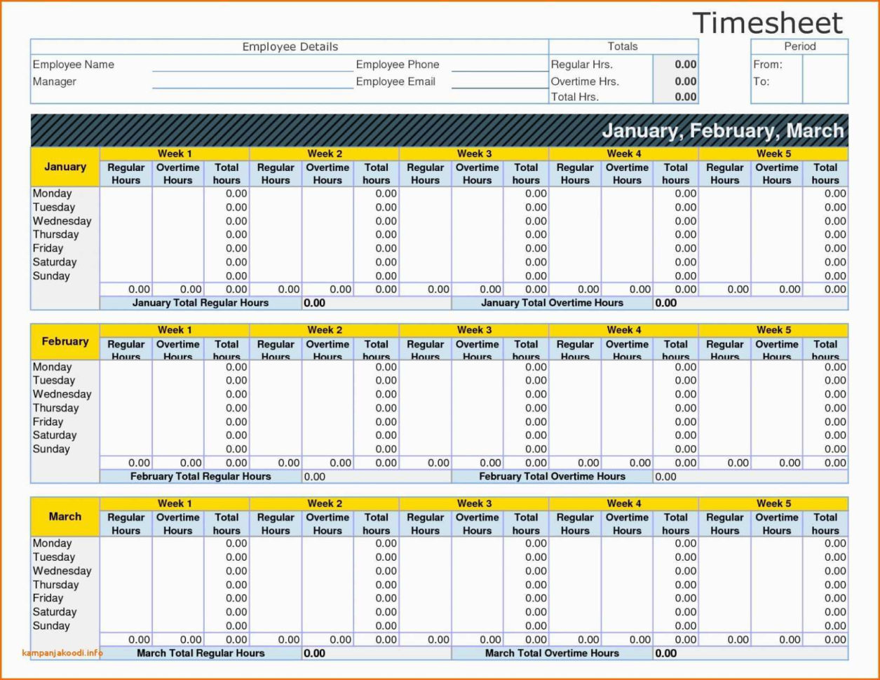 Employee Time Tracking Spreadsheet Awesome Bi Weekly Timesheet And Employee Time Tracking Spreadsheet