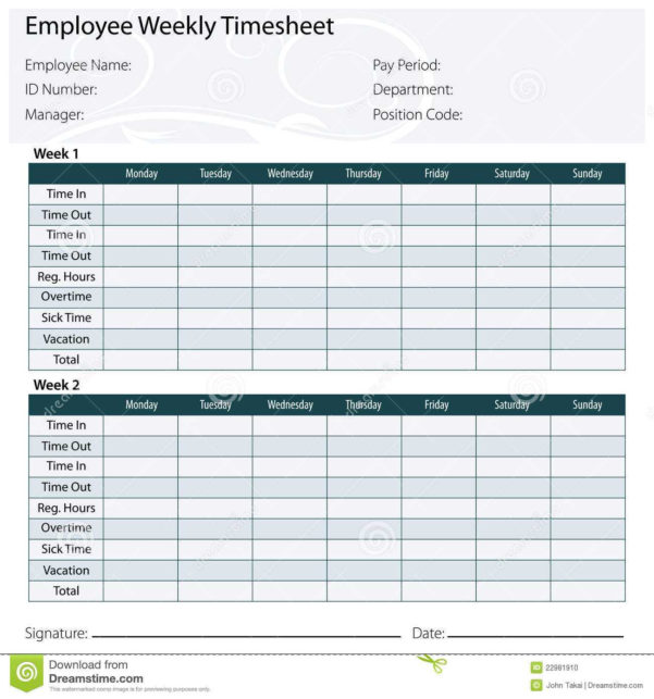 Employee Timesheet Spreadsheet | Sosfuer Spreadsheet Intended For Employee Timesheet Spreadsheet