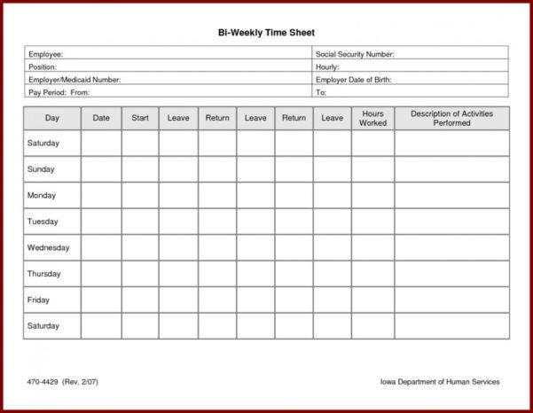 Employee Timesheet Template Excel Spreadsheet 6   Isipingo Secondary And Employee Timesheet Spreadsheet