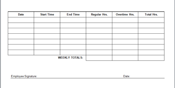 Employee Timesheet Templates Dawaydabrowaco With Regard To Employee Within Payroll Timesheet Template