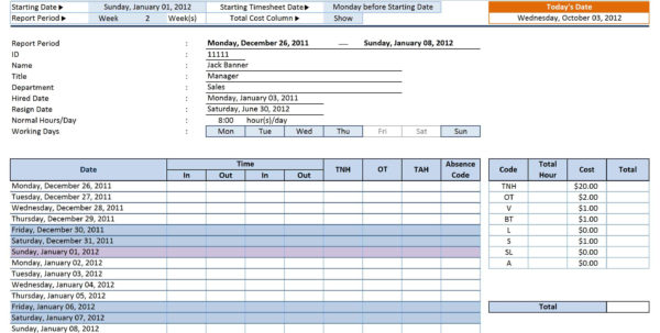 Employee Tracking Spreadsheet Template Filename | Isipingo Secondary With Employee Time Tracking Spreadsheet Template