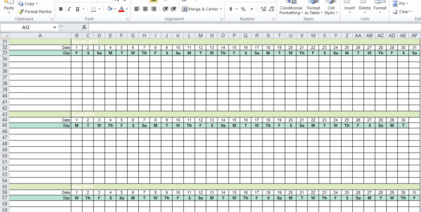Employee Vacation Calendar Free Excel Spreadsheets Html Autos Post To Tracking Employee Time Off Excel Template