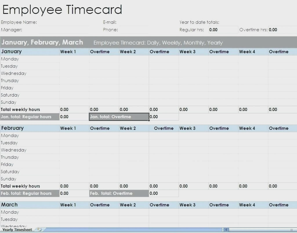 Employees Timesheet Excel Printable Weekly Template Employee Timeng And Employee Time Tracking Spreadsheet