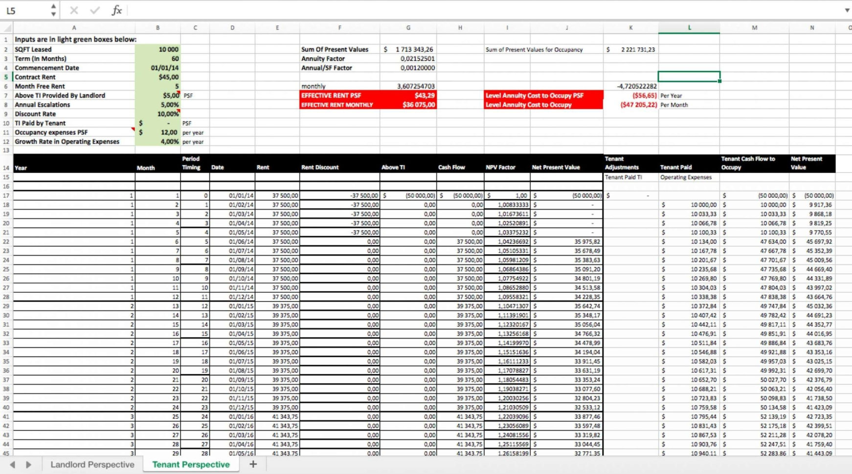 Estate Planning Spreadsheet And Calculate Effective Rent Excel For And Estate Planning Spreadsheet