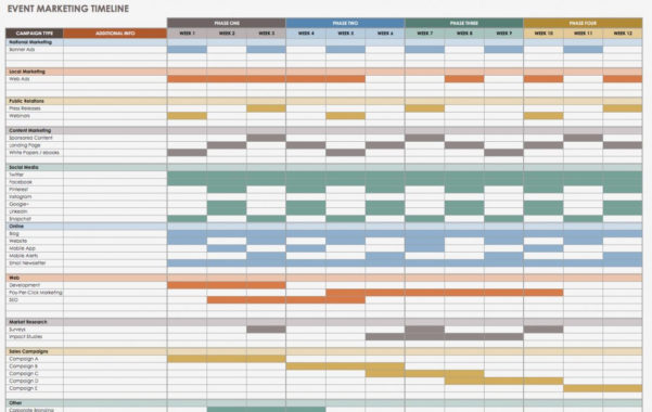 Event Planning Timeline Template Excel Project Plan And Entire In Project Plan Timeline Excel