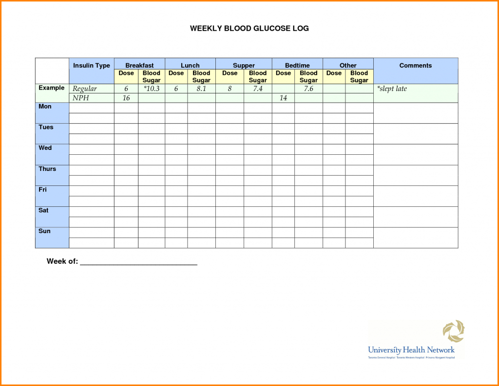 Example Of Blood Sugar Spreadsheet Online Log Glucose Sheet Inside Blood Sugar Spreadsheet