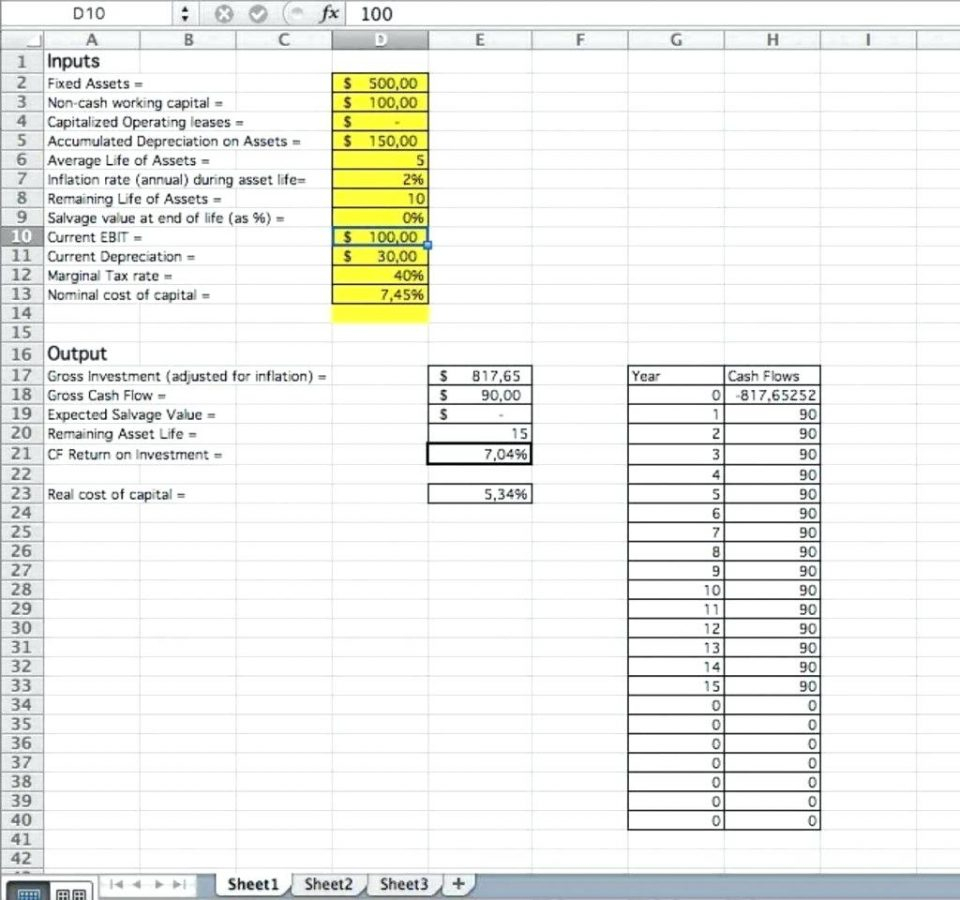 Example Of Business Cash Flow Spreadsheet Forecast Excel Elsik Blue and Business Cash Flow Spreadsheet