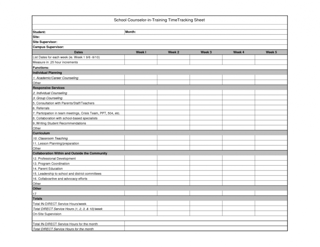Example Of Employee Time Tracking Spreadsheet Daily Tracker Template Inside Employee Hour Tracking Template