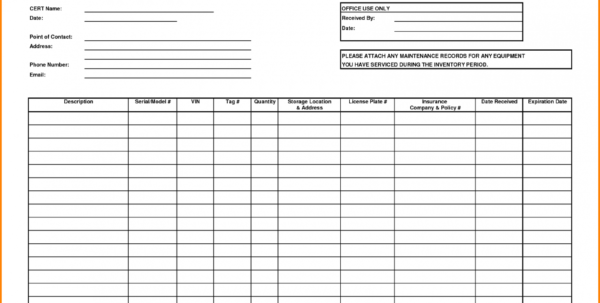 Example Of Simple Inventory Tracking Spreadsheet Management Template With Inventory Tracking Template