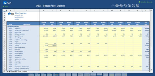 Excel  And Web Based Budgeting For Microsoft Dynamics Gp | Solver Blog In Budgeting Tool Excel
